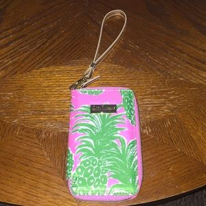 NWT Lilly Pulitzer wristlet for iPhone 6